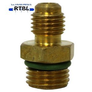 M12 TO 1 / 4 FLARE ADAPTER / ORING