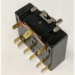 7 POSITIONS ROTARY SWITCH